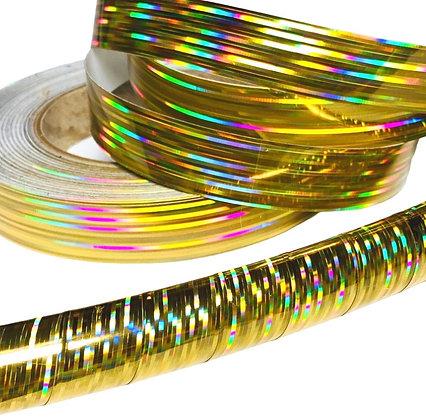 Gold Prism Taped Hoop