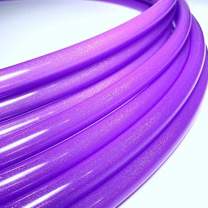 UV Purple Stardust Polypro Hoop