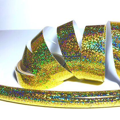 Gold Sequin Taped Hoop