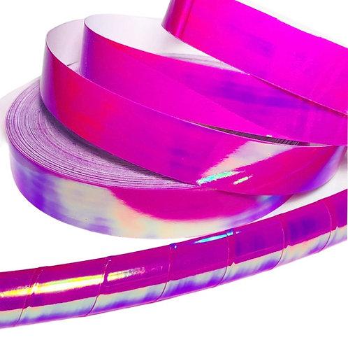 Raspberry Opal Taped Hoop