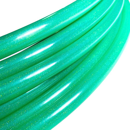 Emerald Green Stardust Polypro Hoop