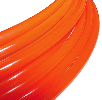 UV Liquid Orange Fusion Gloss Polypro Hoop