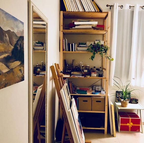 #b2im_Studio #ikea #studio #interiordesi