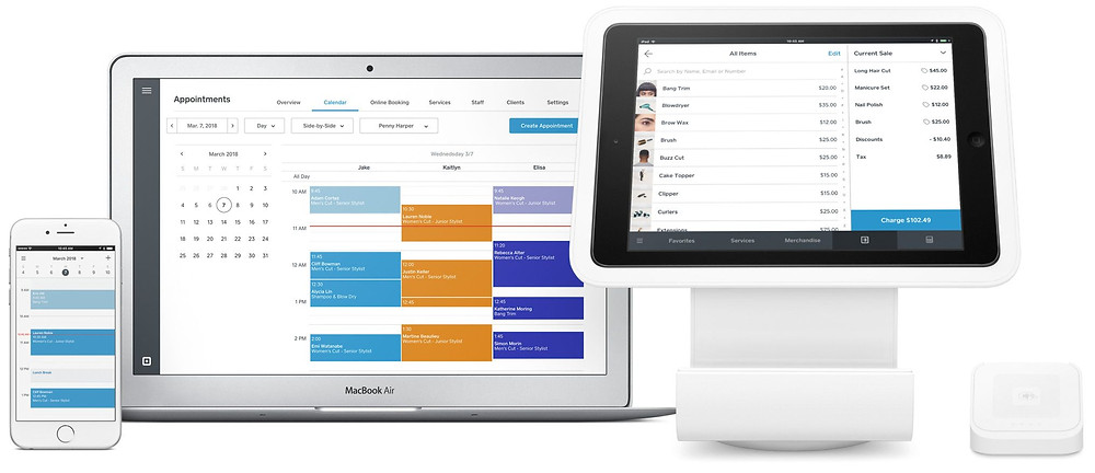 Free point of sales software for booking, payment and business management
