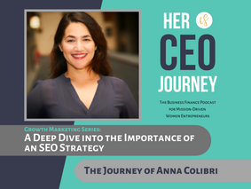A Deep Dive into the Importance of an SEO Strategy - The Journey of Anna Colibri