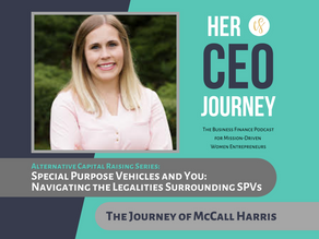 Special Purpose Vehicles and You: Navigating the Legalities Surrounding SPVs - The Journey of McCall