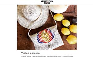 Antic Mallorca en la lista de pequeños comercios en los que merece la pena invertir después del confinamiento, según la revista Arquitectura y Diseño. Vuelta a la esencia.