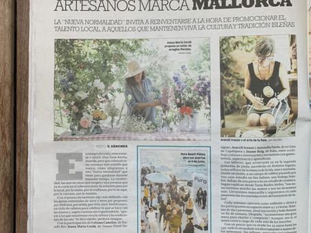 los talleres amb les mans en la prensa mallorquina