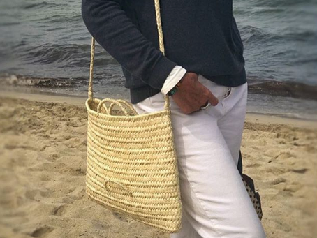 authentic people wearing antic mallorca bags