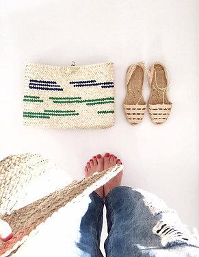 Handbag Green & Blue
