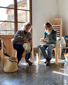 Making baskets in Llubí (Mallorca)