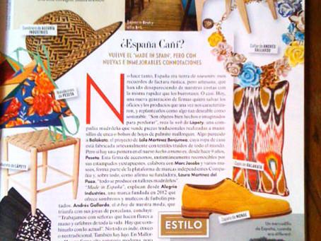 "Antic Mallorca, Loewe, Peseta y otras marcas ""made in Spain"" unidas por Vanity Fair"