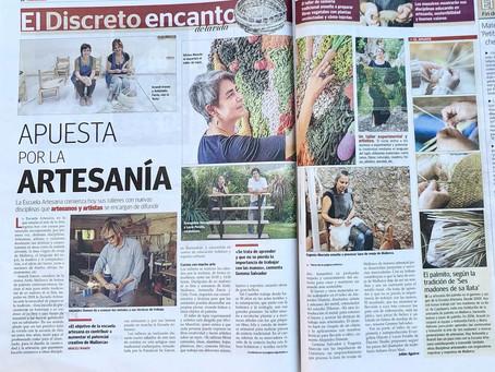La prensa mallorquina presenta La escuela artesana
