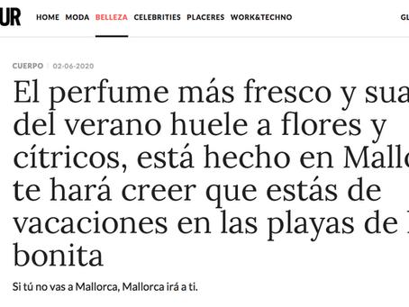 EL PERFUME MÁS FRESCO Y SUAVE DEL VERANO ESTÁ HECHO POR ANTIC MALLORCA