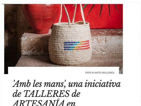 NUESTRA ARTESANÍA DE MALLORCA En la revista ad (architectural digest)