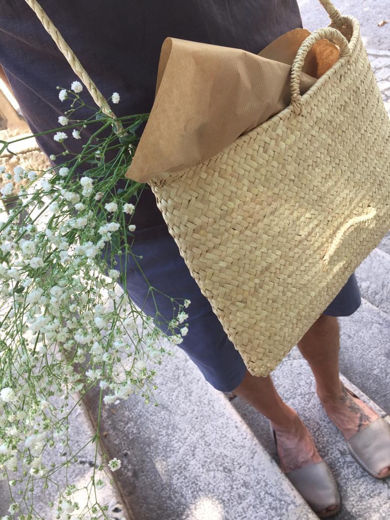 Los bolsos de Antic Mallorca se hacen especialmente para cada persona.