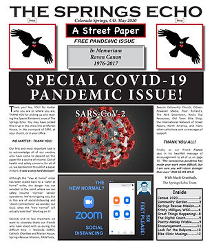 The Springs Echo Special Pandemic Issue