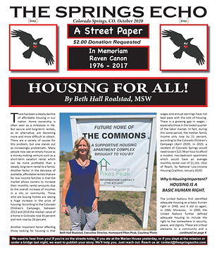 The Springs Echo October 2020 (Final) Fr