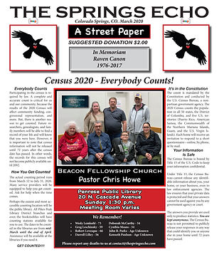 The Springs Echo March 2020 (Final) Cove
