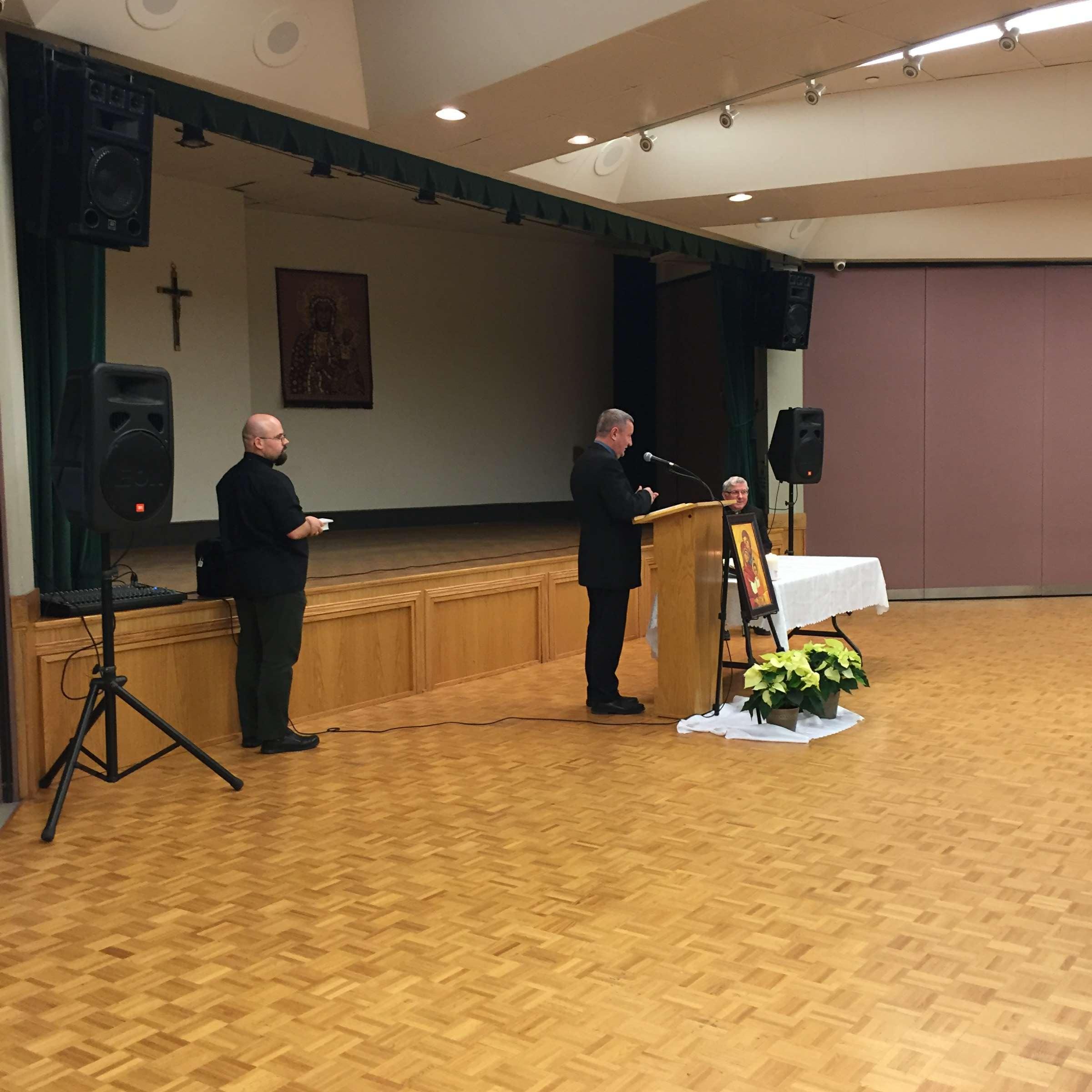 2016.11.27_01  -Spotkanie z Kardynalem Collinsem w Mississauga