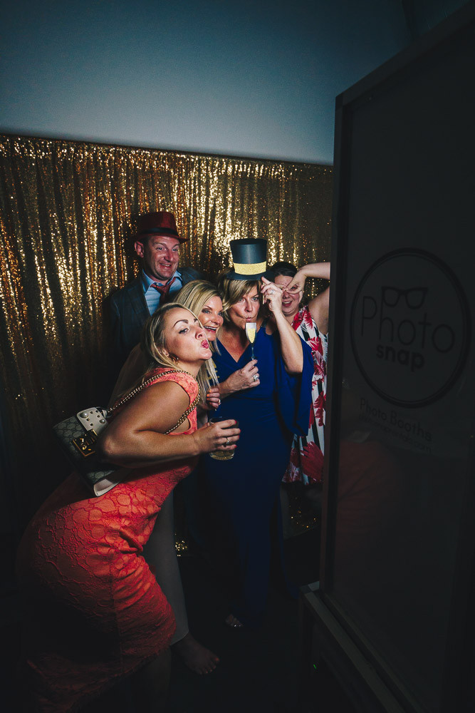 Classy friends in PhotoSnap Photo Booth