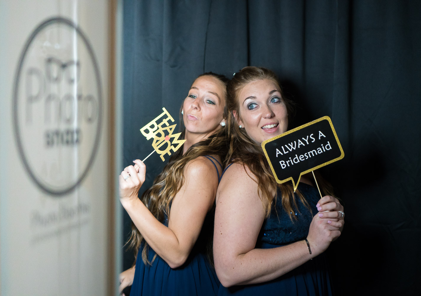 Bridesmaids in PhotoSnap Photo Booth