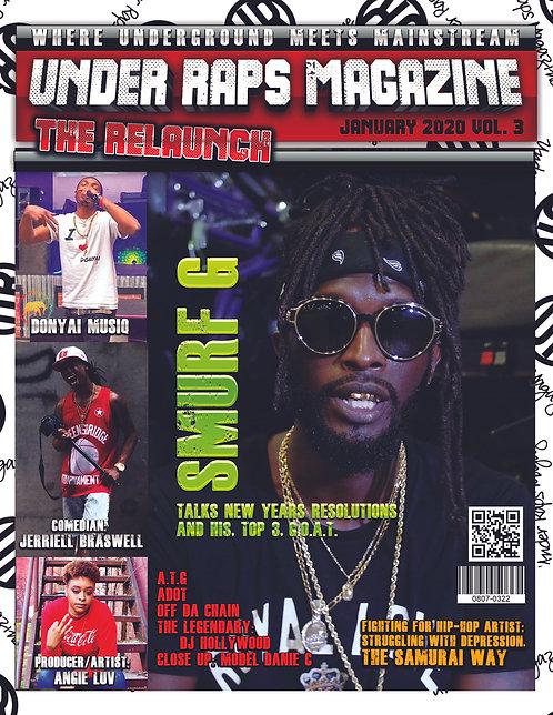 Under Raps Magazine Vol. 3 The Relaunch
