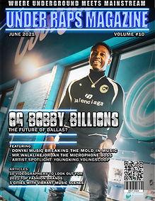 Under Raps Magazine Double Cover Exclusive
