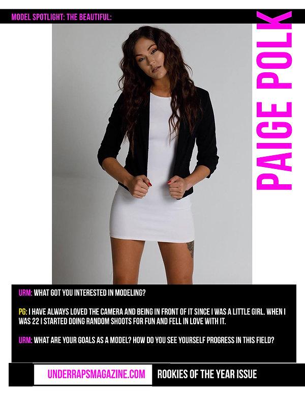 Model Paige Polk