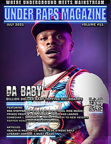 July 2021 Cover DaBaby