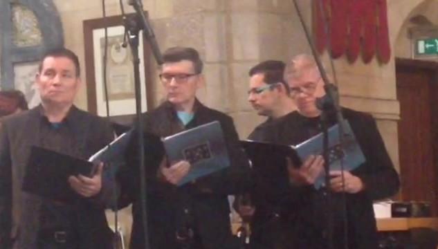 filmpje in de kerk in Schimmert
