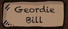 Geordie Bill