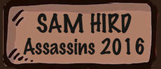 Sam Hird - acted here in Assassins 2016