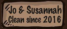 Jo and Susannah - clean since 2016