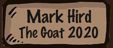 Mark Hird. The Goat 2020