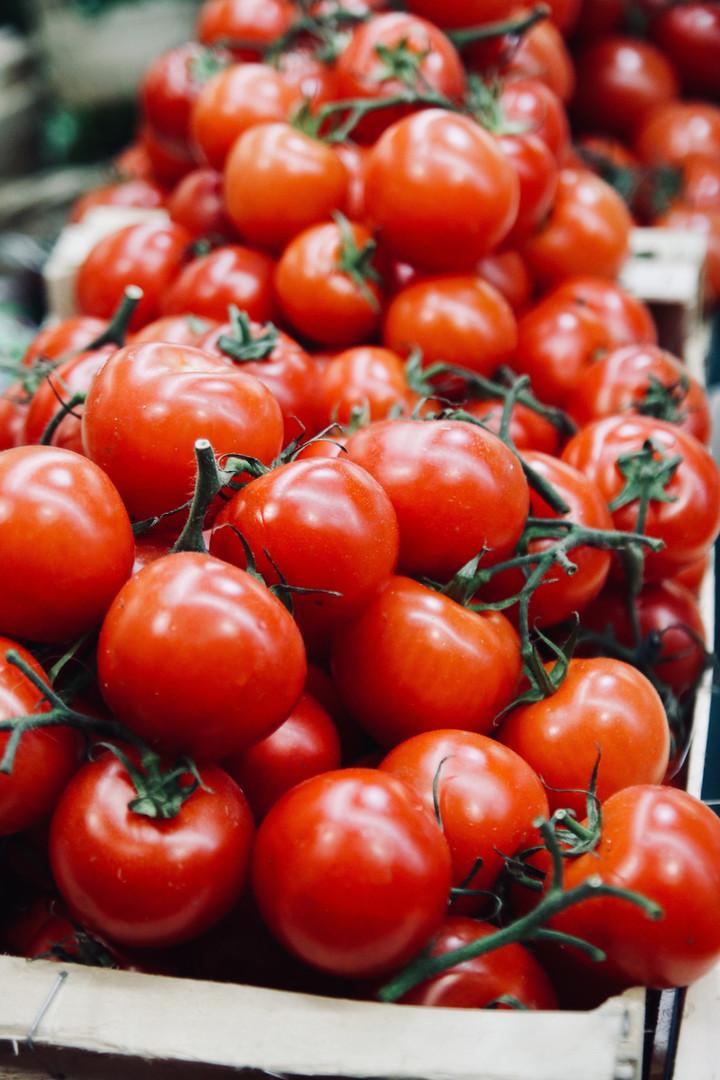 organicznych pomidorów