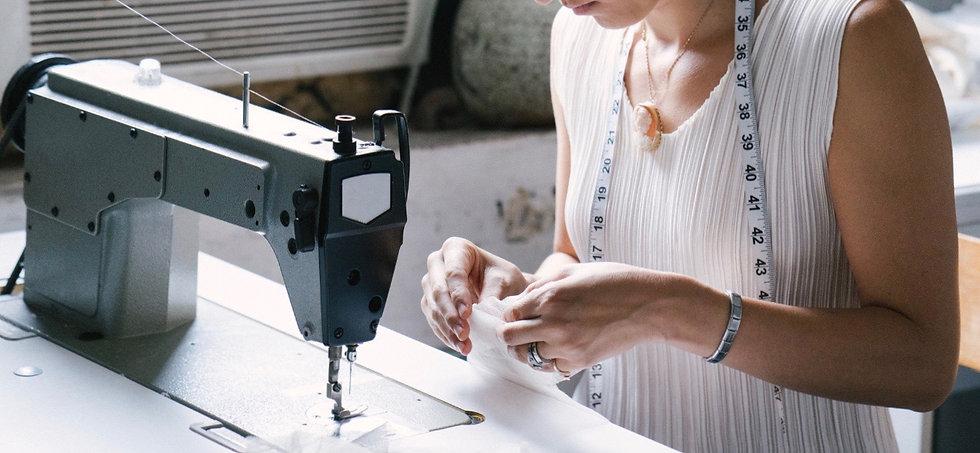 sew wedding dress