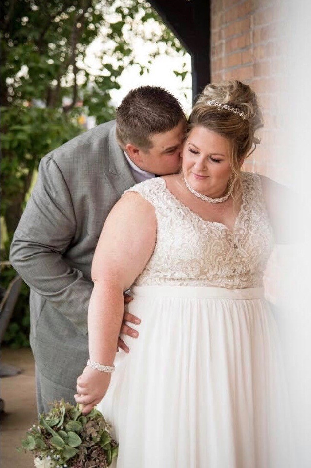 Plusize Wedding Dress