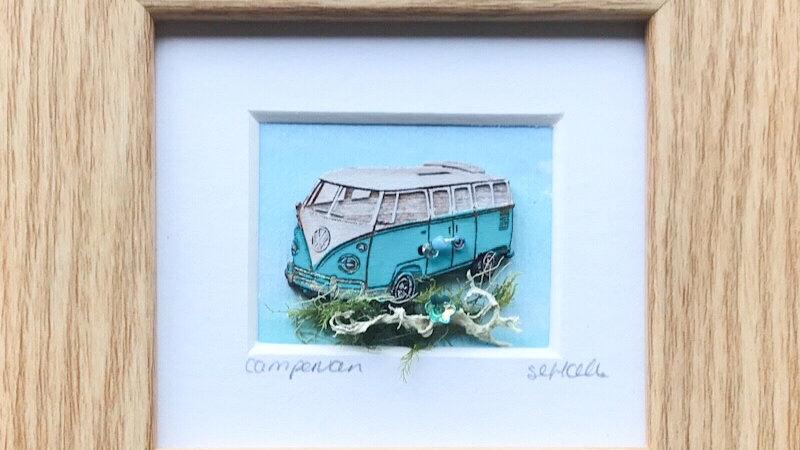 Campervan Mini Boxed Picture