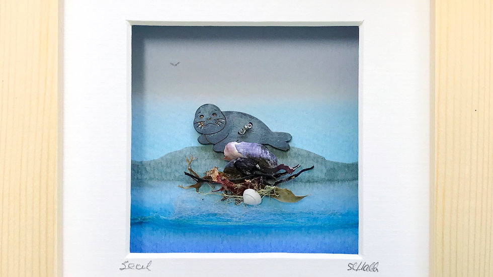 Small Boxed Picture Seal