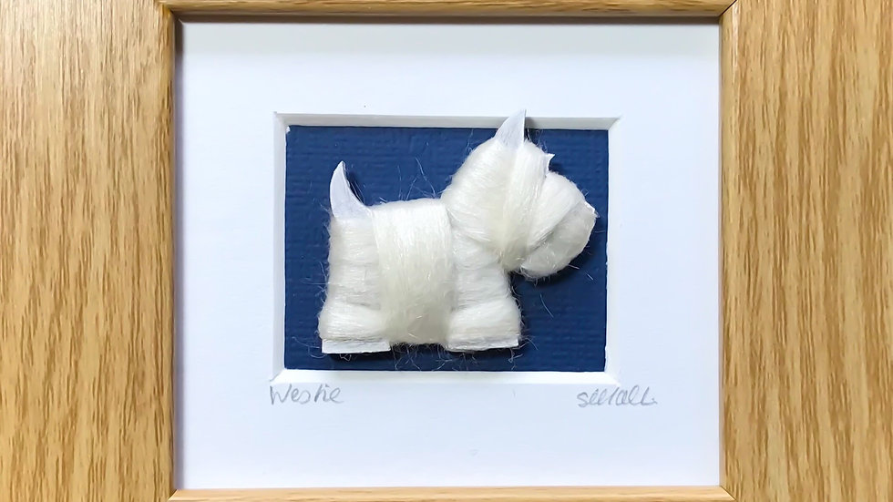 Scottie/Westie Mini Boxed Pictures