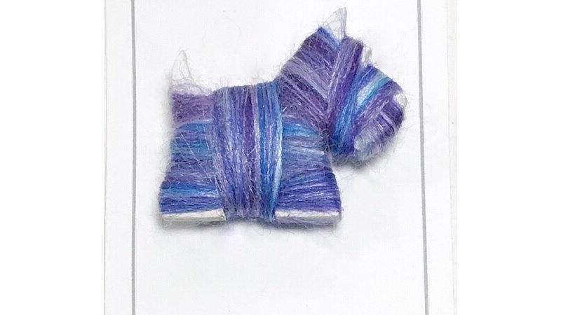 Scottie Dog Brooch Colour Blends