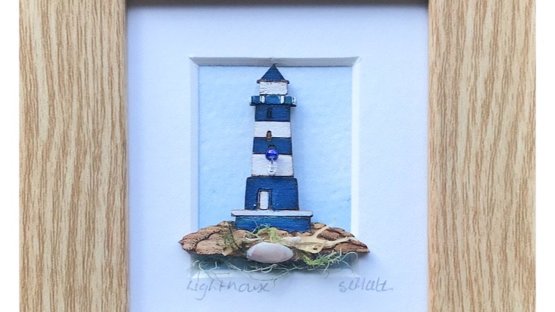 Lighthouse Mini Boxed Picture