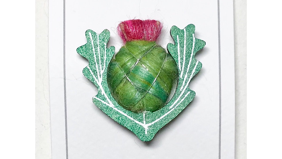Scottish Thistle Brooch