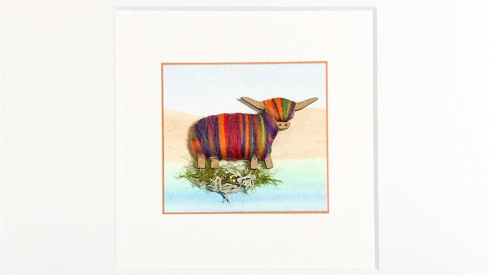Mount Highland Cow Colour Blends