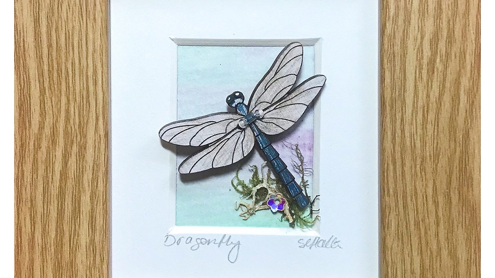 Dragonfly Mini Boxed Picture