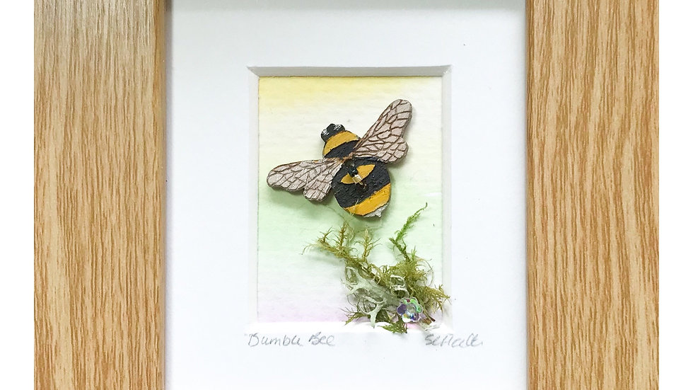 Bumble Bee Mini Boxed Picture