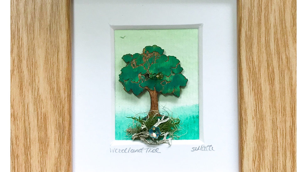 Woodland Tree Mini Boxed Picture