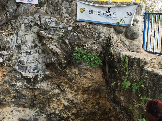 Blue Hole Mineral spring tour $60