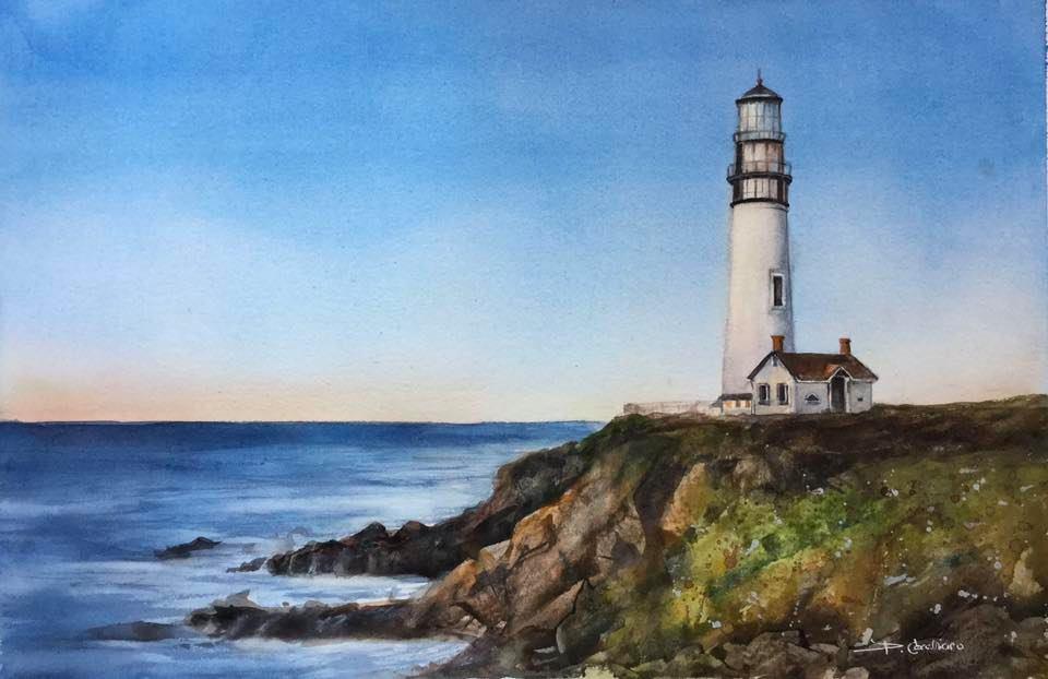 Pidgeon Point Lighthouse